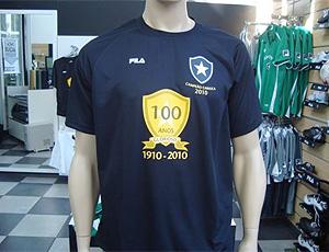 Camisa do centenário do Botafogo
