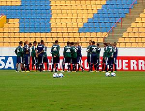 Treino do Palmeiras na Arena Barueri