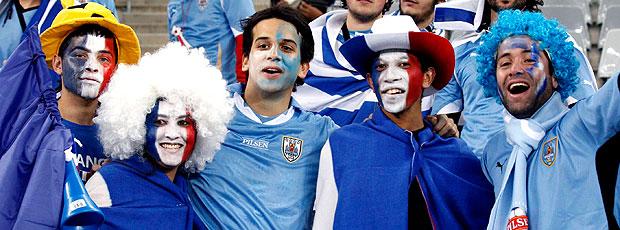 Ao vivo: assista Uruguai 0 x 0 França (EFE)