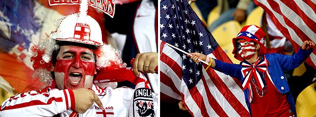 Ao vivo: Inglaterra 0 x 0 Estados Unidos (Editoria de Arte / GLOBOESPORTE.COM)