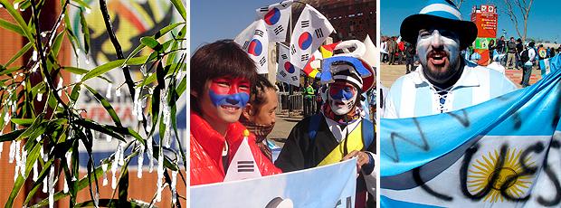Pré-jogo de Argentina x Coreia do Sul (Zé Gonzalez / Globoesporte.com)