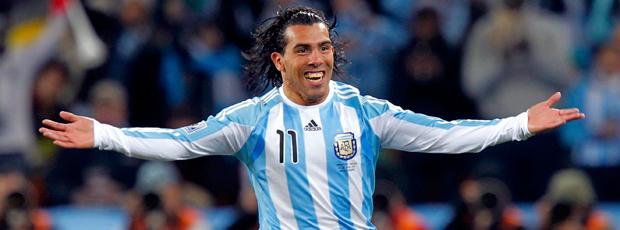 tevez gol  comemoração argentina x méxico