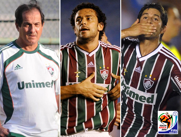 Montagem Muricy Fred Conca Fluminense Copa 2010