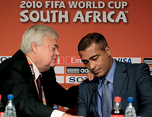 Romário Ricardo Teixeira coletiva Copa do Mundo 2014