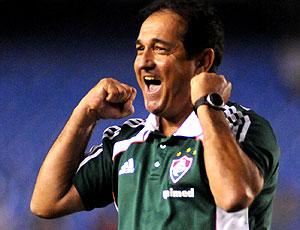 Muricy Ramalho comemoração jogo Fluminense
