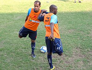 Felipe e Zé Roberto, treino Vasco