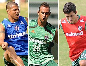 montagem Fluminense André Luis Rodriguinho Marquinho