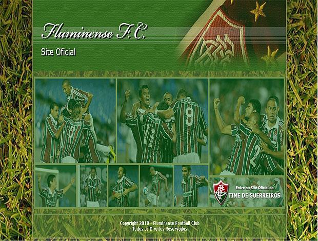 site Fluminense time de guerreiros