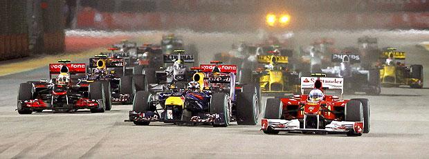 Alonso largada GP Cingapura