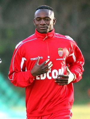 Mahamadou Diarra treinando no Monaco