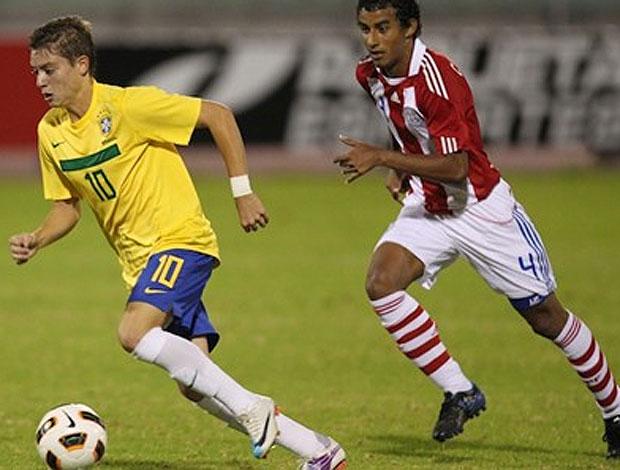 brasil x paraguai   (Foto: Divulgação/CBF)