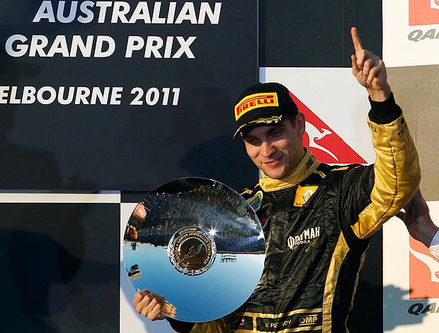 vitaly petrov renault gp da austrália (Foto: agência Reuters)