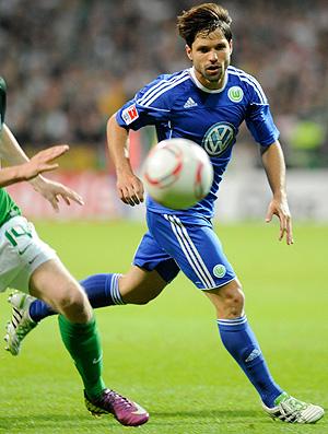 diego Werder Bremen  Wolfsburg  (Foto: Reuters)