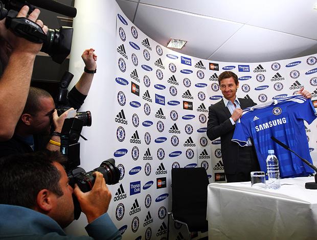 andre villas-boas treinador chelsea coletiva (Foto: agência Getty Images)