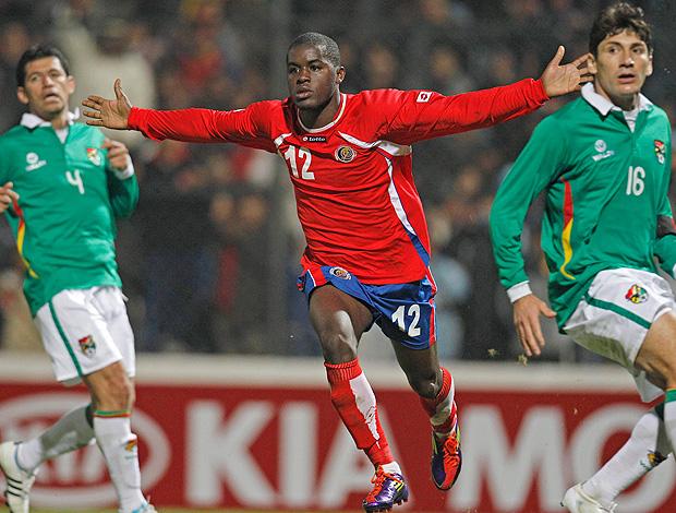 Joel Campbell gol Costa Rica (Foto: AP)