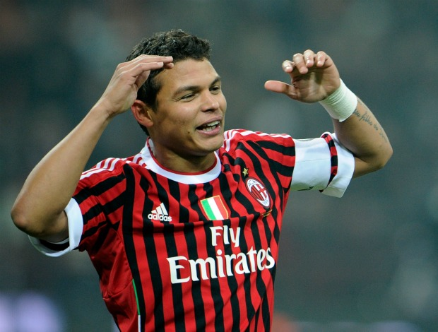 Thiago Silva Milan Chievo (Foto: Getty Images)