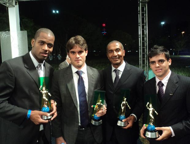 Cristovão, filho de Ricardo Gomes, Fagner e Dedé, Bem, Amigos (Foto: Wagner Bordin/SporTV.com)