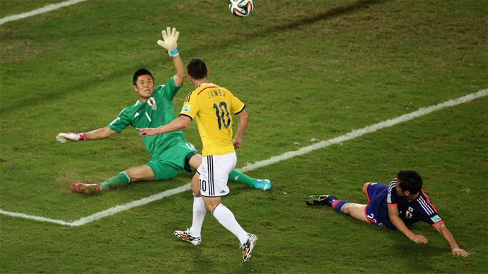 Resultado de imagem para Japão 1 x 4 Colômbia