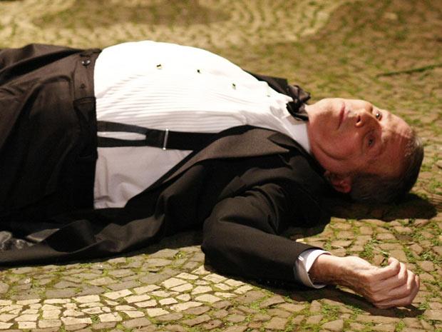 morte-Salomão-O Astro (Foto: O Astro / TV Globo)