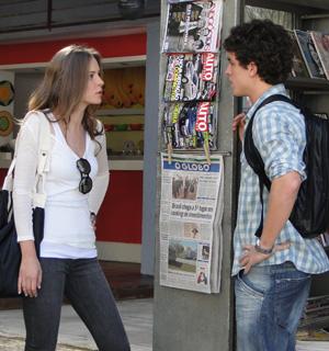 Raquel procura Lúcio e pede ajuda  (Malhação / TV Globo)