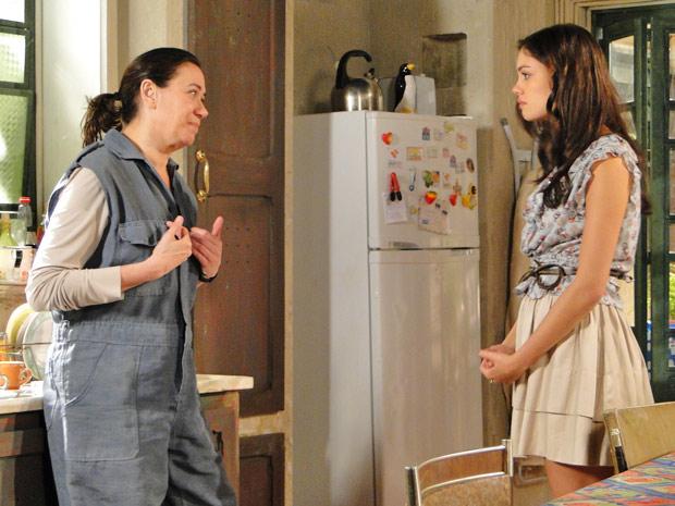 Griselda deixa suspense no ar sobre perdão a Antenor (Foto: Fina Estampa/TV Globo)