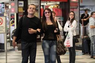 Maria e Daniel Ex-BBB (Foto: Orlando Oliveira / AgNews)