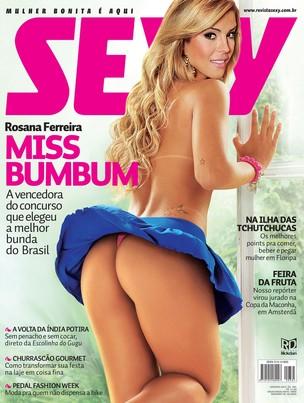 """Miss Bumbum na capa da """"Sexy"""" (Foto: Divulgação/ Revista Sexy)"""