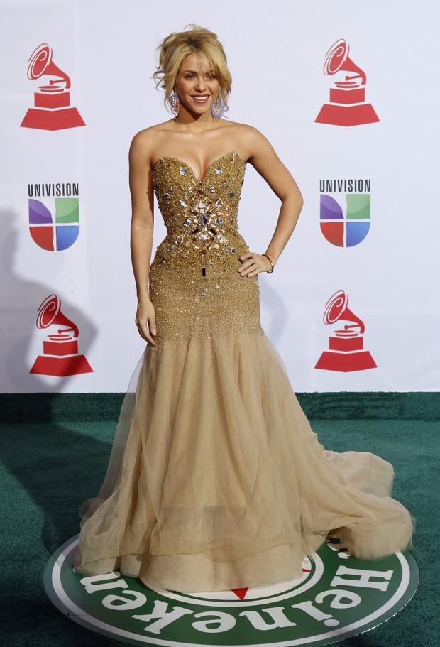 Shakira é homenageada em Las Vegas, nos Estados Unidos (Foto: Reuters/ Agência)