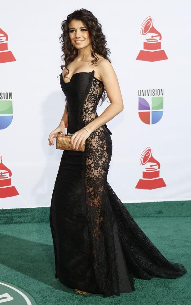 Paula Fernandes na 12ª edição do Grammy Latino em Las Vegas, nos Estados Unidos (Foto: Reuters/ Agência)