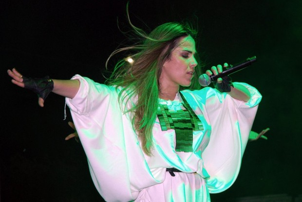 Wanessa Camargo faz show em Sao Jose do Rio Preto - SP (Foto: Marcos Amaral / AgNews)