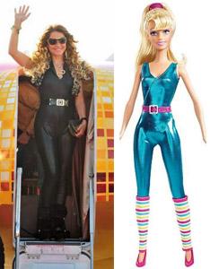 Chayene e Barbie  (Foto: Reprodução)