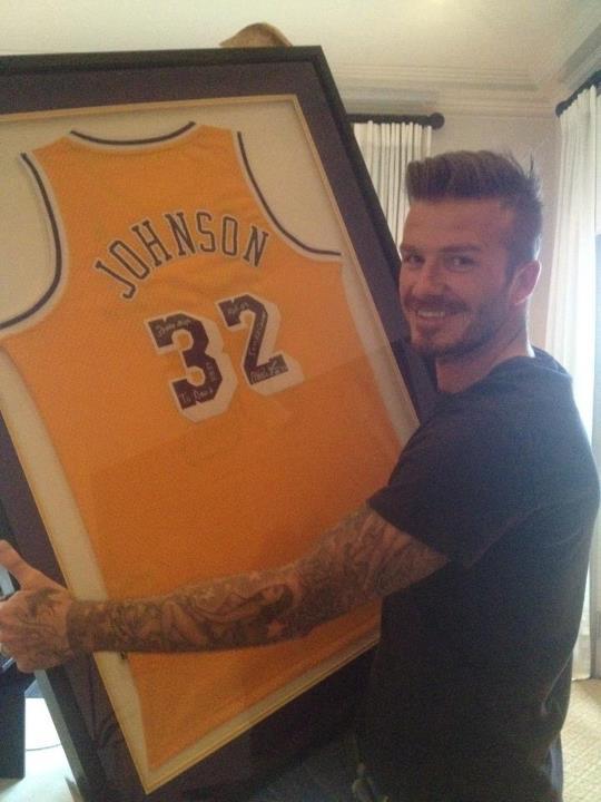 David Beckham (Foto: Facebook / Reprodução)