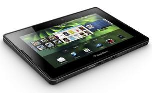 O PlayBook, tablet da RIM, mesma fabricante do smartphone BlackBerry (Foto: AP)