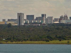 A cidade vista da Ermida Dom Bosco