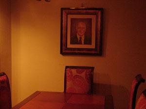 A mesa cativa de Ulysses Guimarães no restaurante Piantella