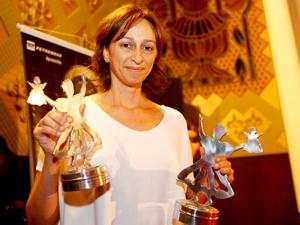 Filme da diretora Laís Bodansky (foto) foi o grande vencedor da noite.