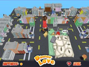 No jogo, Howard e Steffany buscam comida em San Francisco.