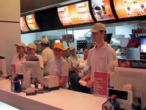 Atendentes do McDonald's