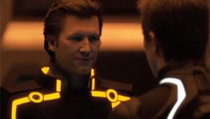 Jeff Bridges interpreta a si mesmo, em versão digital mais jovem, em filme.
