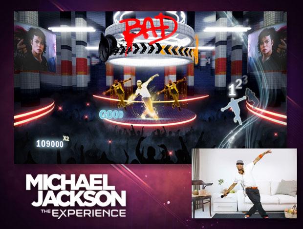 No Xbox 360, jogadores usarão o Kinect para dançar e cantar no game do astro do pop.