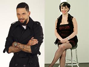 Ricardo dos Anjos e Wanda Alves, jurados de 'Por um fio'