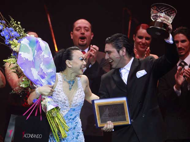 A dupla conquistou o titulo representando a cidade argentina de Colón, onde nasceu Ortega.