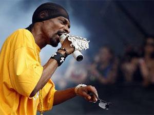 Snoop Dogg faz show no festival Lollapalooza (Foto: AP)