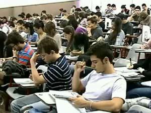 Estudantes vestibular