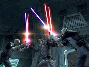 No game, o jogador é o aprendiz de Darth Vader.