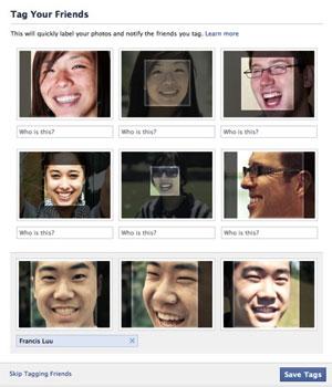 Recurso do Facebook marca amigos em fotos automaticamente (Foto: Reprodução)