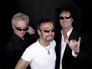 O Queen, com o vocalista Paul Rodgers ao centro (Foto: Divulgação/Myspace do artista)