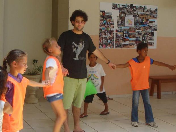 Estudante de Harvard em Florianópolis