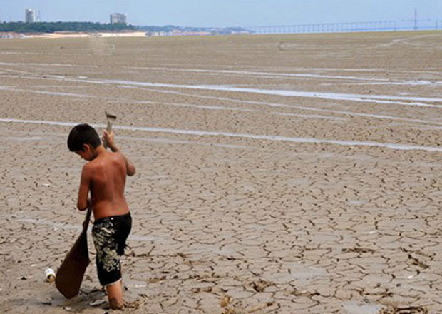 Seca 2010 (Foto: AFP)