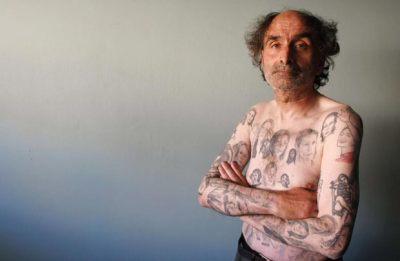 Miljenko Parserisas Bukovic gastou US$ 2.500 para fazer as 82 tatuagens. (Foto: Eliseo Fernandez/Reuters)